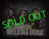 WALKING DEAD : Zombie Cracked T-shirt