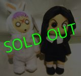 LIVING DEAD DOLLS:PLUSH/ Series 1/ Sadie & Eggzorcist SET