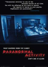 PARANORMAL ACTIVITY : Poster