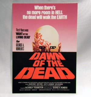 画像1: DAWN OF THE DEAD(Logo Poster) : Post Card