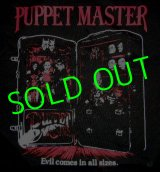 PUPPET MASTER : Evil Comes in All Sizes T-Shirt