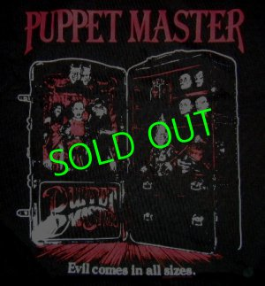 画像1: PUPPET MASTER : Evil Comes in All Sizes T-Shirt