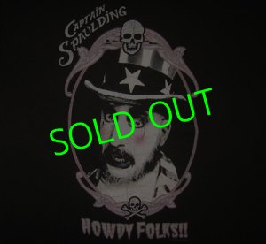 画像1: HOUSE OF 1000 CORPSES : Capt Spaulding Portrait T-Shirt